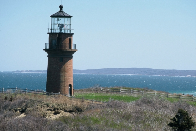 Martha's Vineyard : le phare de Gay Head (mai 1999)